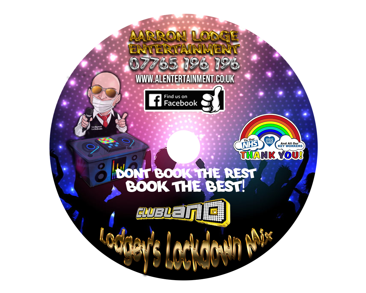 Lodgeys Lockdown Hits CD Volume 3 CLUBLAND (CD+DOWNLOAD)